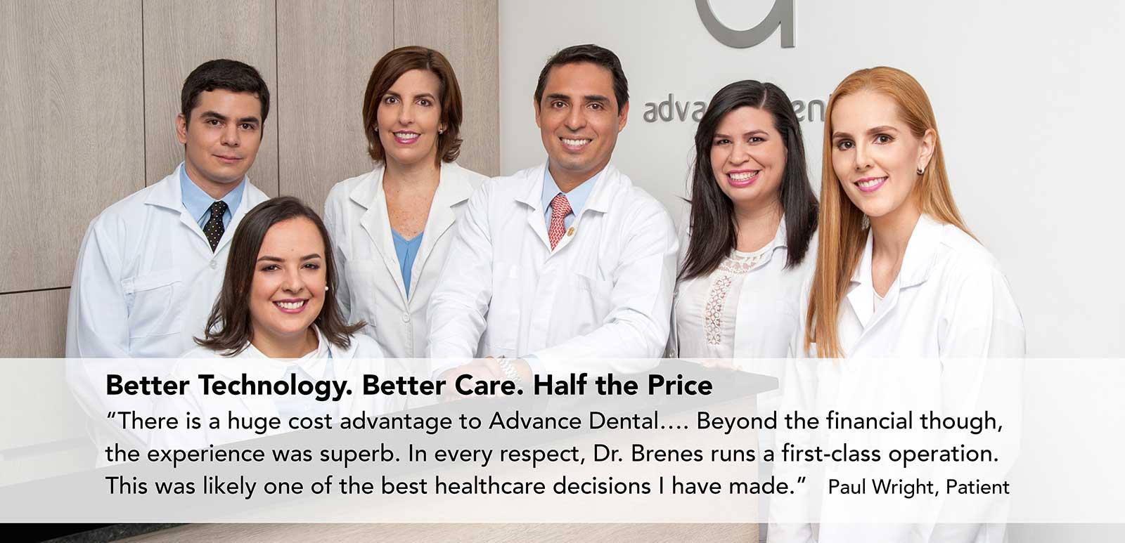 Advance Dental Clinic Costa Rica - Patient Testimonial